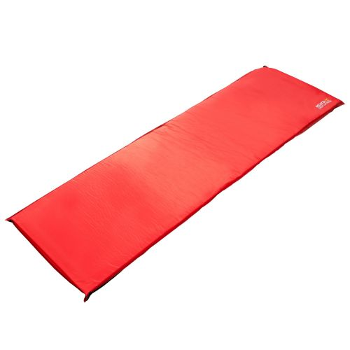 NAPA 7 LIGHTWEIGHT SELF-INFLATING FOAM CAMPING MAT - SINGLE PEPPER RED